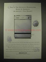 1995 Jenn-Air DW860UQ Dishwasher Ad - Quietest