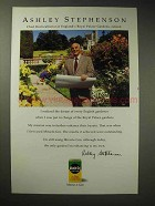 1996 Miracle-Gro Plant Food Ad - Ashley Stephenson