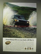 1997 Land Rover Discovery Ad - Your Kids Will Like It