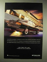 1997 Oldsmobile Intrigue Car Ad - Intrigued?
