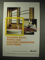 1998 Microsoft Windows Ad - Understand Each Other