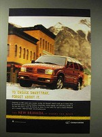 1998 Oldsmobile Bravada Ad - Engage SmartTrak