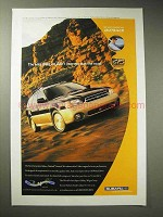 2000 Subaru Outback Limited Ad - Didn't Improve Road