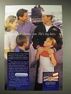 2001 Today's Military Ad - He's my Hero