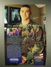 2001 Today's Military Ad - Not Just Son