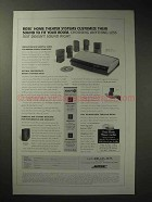 2003 Bose Home Theater System Lifestyle 35 DVD Ad