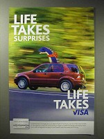 2006 VISA Credit Card Ad - Life Takes Surprises
