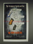 1996 Ruger GP100 Revolver Ad - The Strongest