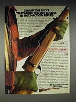 1982 Smith & Wesson 1500 Rifle Ad - Bolt-Action