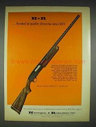 1970 H&R Pump-action Shotgun - Model 442 Ad
