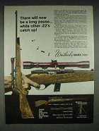1970 Weatherby Mark XXII Deluxe Rifle Ad - A Long Pause