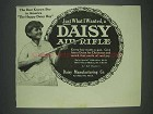 1913 Daisy Air Rifle Ad - The Best Known Boy in America