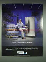 2004 Kenmore Refrigerator Ad - Great Bottled Water