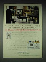 1998 Jenn-Air Appliances Ad - Find the Perfect Chair