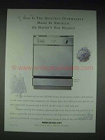 1995 Jenn-Air DW860UQ Dishwasher Ad - Haven't Heard?