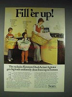 1977 Kenmore Washing Machine Ad - Fill 'er Up!