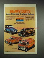 1978 Monogram Models Ad - Jeep CJ-7 Renegade, Chevy LUV
