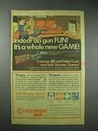 1978 Crosman Model 73 Gun Ad - Indoor BB gun Fun!