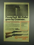 1978 Crosman Model 73, 760 Gun Ad - Powerfun