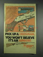 1978 Crosman 760 Airgun Ad - You Won't Believe