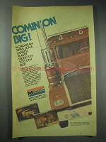 1982 Monogram Models Ad - Kenworth W-900 Truck