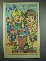 1985 Nestle Quik Ad - Quik Bunny - The 1 Kids Pick