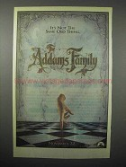 1991 The Addams Family Movie Ad - Not Same Old Thing