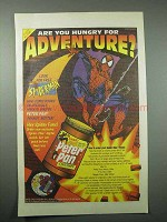 1995 Peter Pan Peanut Butter Ad - Spider-Man