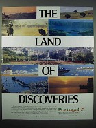 1989 Portugal Tourism Ad - The Land of Discoveries