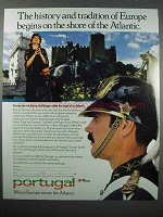 1987 Portugal Tourism Ad - History, Tradition of Europe