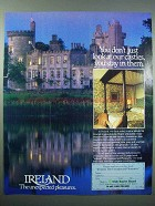 1986 Ireland Tourism Ad - Don't Just Look At Castles