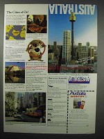 1983 Australia Tourism Ad - The Cities of Oz!