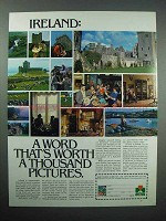 1979 Ireland Tourism Ad - Worth a Thousand Pictures