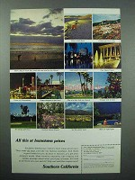 1967 Southern California Tourism Ad