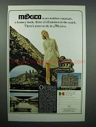 1966 Mexico Tourism Ad - An Outdoor Museum