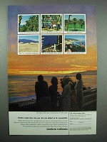 1965 Southern California Tourism Ad - Visitors All Year