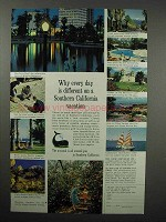 1961 Southern California Tourism Ad - Different