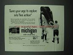 1959 Michigan Tourism Ad - Your Urge To Explore