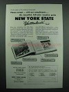 1958 New York Tourism Ad - Vacationlands