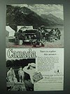 1958 Canada Tourism Ad - Yours to Explore This Summer