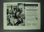 1958 Michigan Tourism Ad