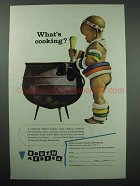 1957 South Africa Tourism Ad - What's Cooking?