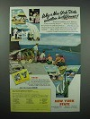 1956 New York Tourism Ad - Vacation is Different