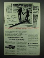 1945 Southern California Tourism Ad - Victory