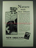 1930 New Orleans Louisianna Commerce Ad - Nature