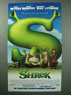 2001 Shrek Movie Ad - Greatest Fairy Tale Never Told