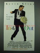 1997 In & Out Movie Ad - Kevin Kline