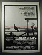 1984 The Killing Fields Movie Ad