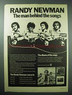 1978 Randy Newman Little Criminals Album Ad