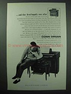 1960 Conn Organ Ad - Lived Happily Ever After